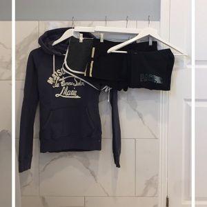 Bundle   Lounge Wear (3 Sweat Shorts & 1 Hoodie)